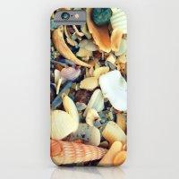 iPhone & iPod Case featuring Shell Beach by Beach Bum Chix