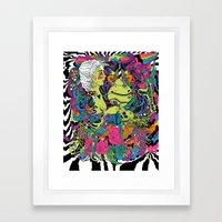 The Sea Death Framed Art Print