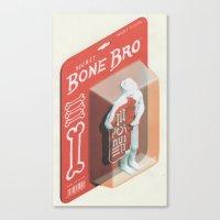 Secret Bone Bro  Canvas Print