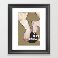 Hang Framed Art Print