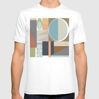 MCM Modestly Abstract Mens Fitted Tee White SMALL