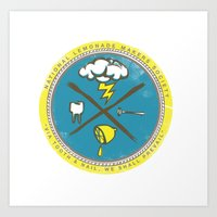 National Lemonade Makers Society Crest Art Print
