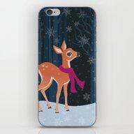 Snow Fawn iPhone & iPod Skin