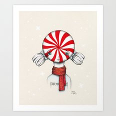 Minty Winter Art Print