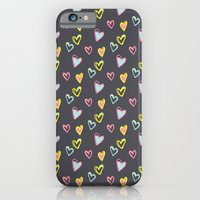 Rosewall love iPhone 6 Slim Case