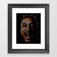 #2 Ol' Dirty Bastard - R… Framed Art Print