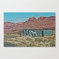 Lamb of the Road Canvas Print