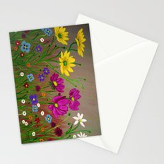 Spring Wild flowers  Stationery Cards