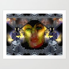 Take the dreams of peacefulness as arms against deceitfulness Art Print
