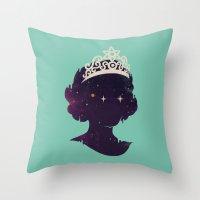 Miss U Throw Pillow