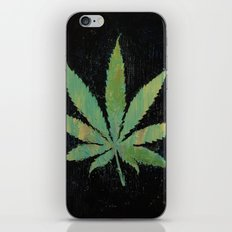 Pot Leaf iPhone & iPod Skin