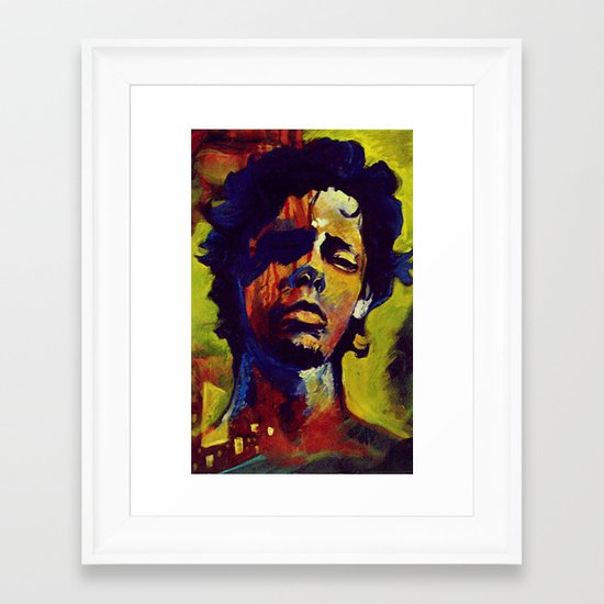 Portrait * Darren Le Gallo Framed Art Print