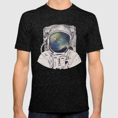 Dreaming Of Space Mens Fitted Tee Tri-Black SMALL