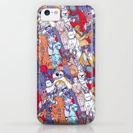 Space Toons In Color iPhone 5c Slim Case