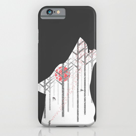 Winter Wolf iPhone & iPod Case