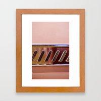 Pink Classic American Ca… Framed Art Print
