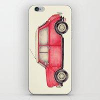 Original Austin Mini - B… iPhone & iPod Skin
