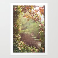 We Were Talking About Th… Art Print