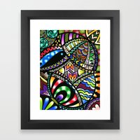 Carnival Of Colour Framed Art Print