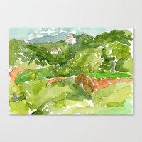 Untitled Landscape, Caru… Canvas Print