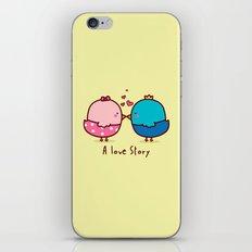 A Love Story iPhone & iPod Skin