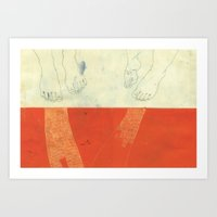 Made for walking Art Print