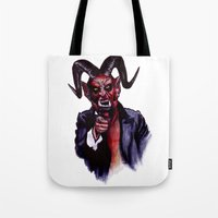 Uncle Satan Tote Bag