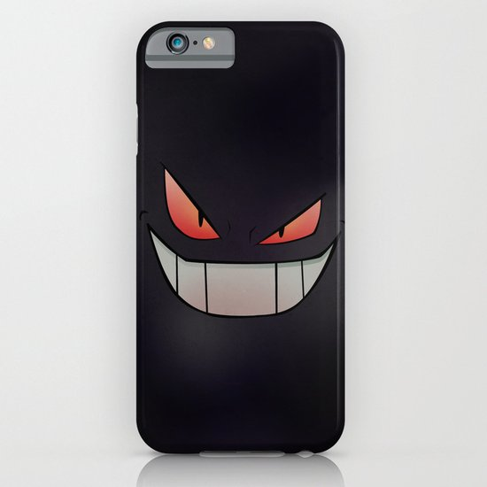 Dark Gengar Pokemon Poster/iPhone - Minimalism Art iPhone & iPod Case