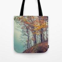 Above the Clouds in Appalachia in Autumn -- Landscape Tote Bag