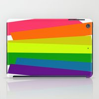 Retro Rainbow  iPad Case
