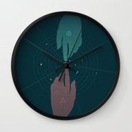 Wall Clock featuring Parallel Universe by Chyworks