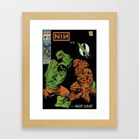 With Teeth / If I Had A … Framed Art Print