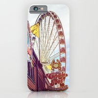 iPhone & iPod Case featuring The Crab Pot and Seattle Great Wheel by JMcCool