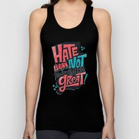 Hate Does Not Make America Great Unisex Tank Top