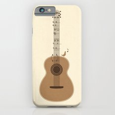 Classical Notation Slim Case iPhone 6s