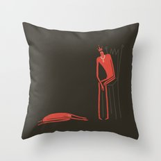 Embarrassing rich Throw Pillow