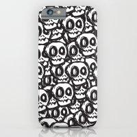 iPhone & iPod Case featuring Skulls by ndaudesign