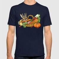 November Jackalope Mens Fitted Tee Navy SMALL