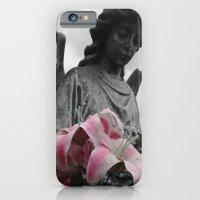 Angel Holding Flowers #2 iPhone 6 Slim Case