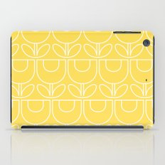 MCM Tulip Outline in Yellow iPad Case