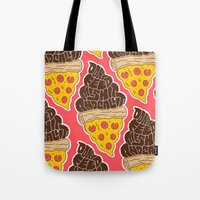 Don't Feed Me Shit and Call it Pizza Tote Bag