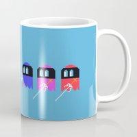Pac Ninja, Pixelated Ter… Mug