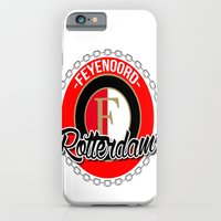 iPhone & iPod Case featuring Feyenoord chain Rotterdam crest by The Voetbal Factory