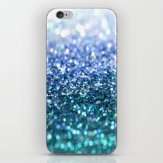 ocean glitter iPhone & iPod Skin