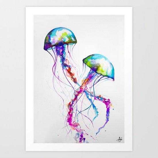 Narasumas Art Print By Marc Allante Society6