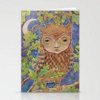 Oak & Owl Stationery Cards