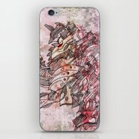 The Robot who melted the Moon iPhone & iPod Skin