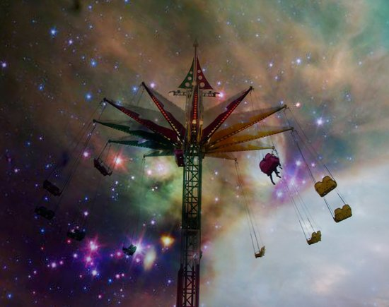 Celestial Fantasy Ride Art Print