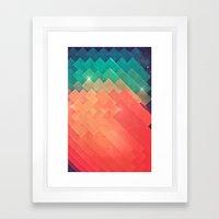 pwwr thyng Framed Art Print