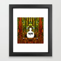 Ta-Ku - 24 Framed Art Print